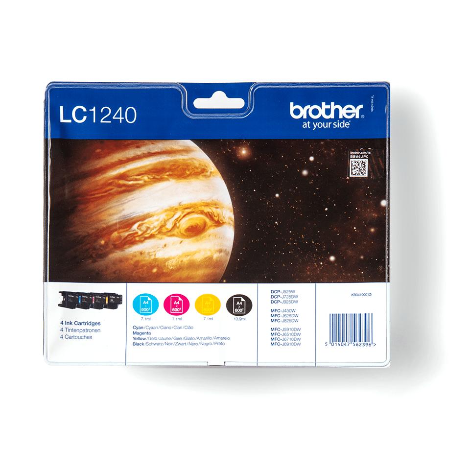 Brother LC1240VALBP Confezione da 4 cartucce inkjet originali