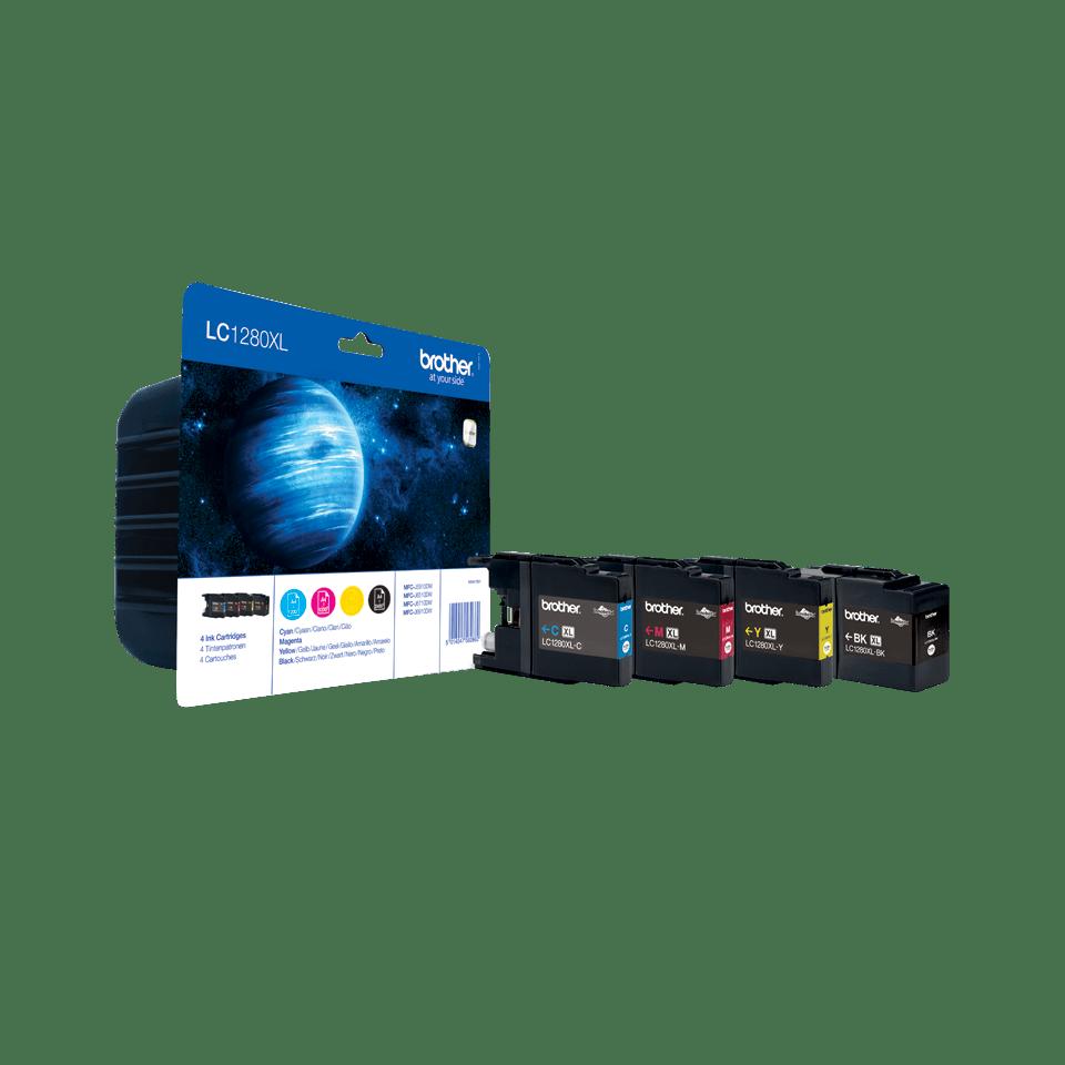 LC-1280XLVALBP Confezione 4 cartucce inkjet XL