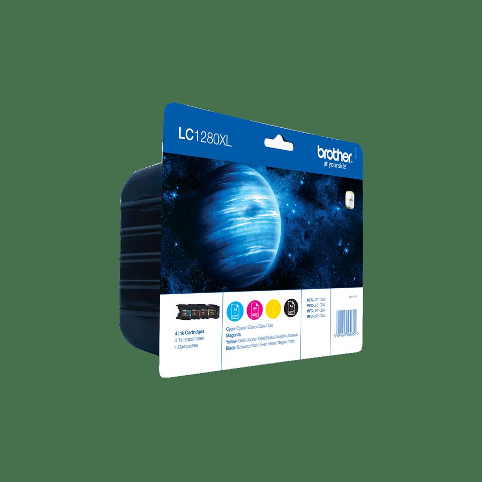 Brother LC1280XLVALBP Confezione 4 cartucce inkjet XL originali 2