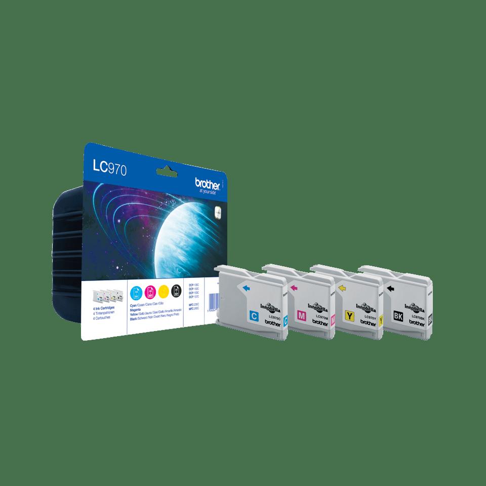 Brother LC-970VALBP Confezione da 4 cartucce inkjet originali