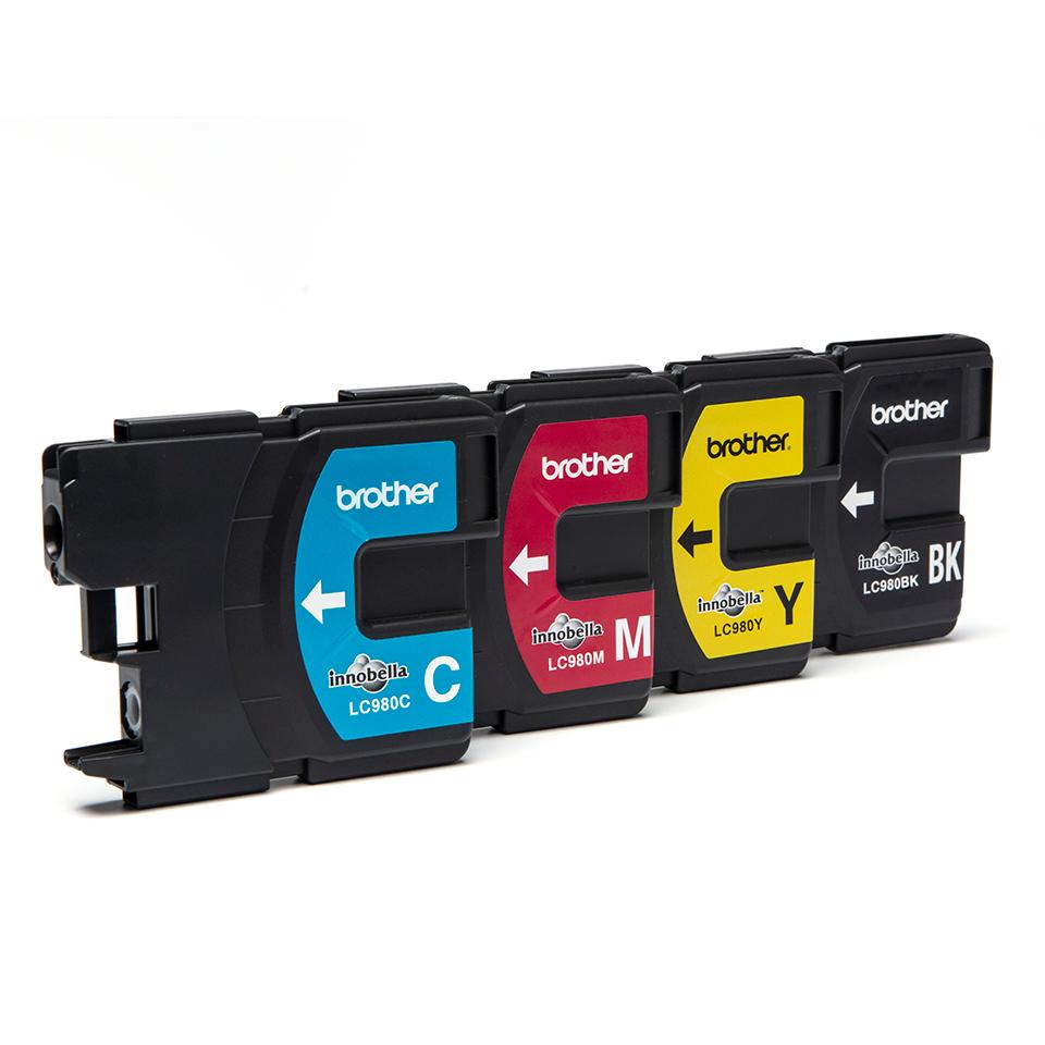 Brother LC-980VALBP Confezione da 4 cartucce inkjet originali 2