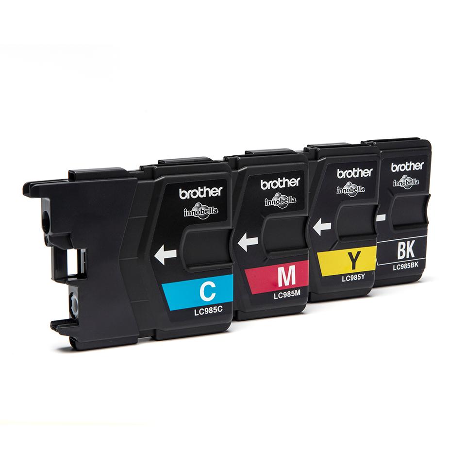 Brother LC985VALBP Confezione da 4 cartucce inkjet originali 2