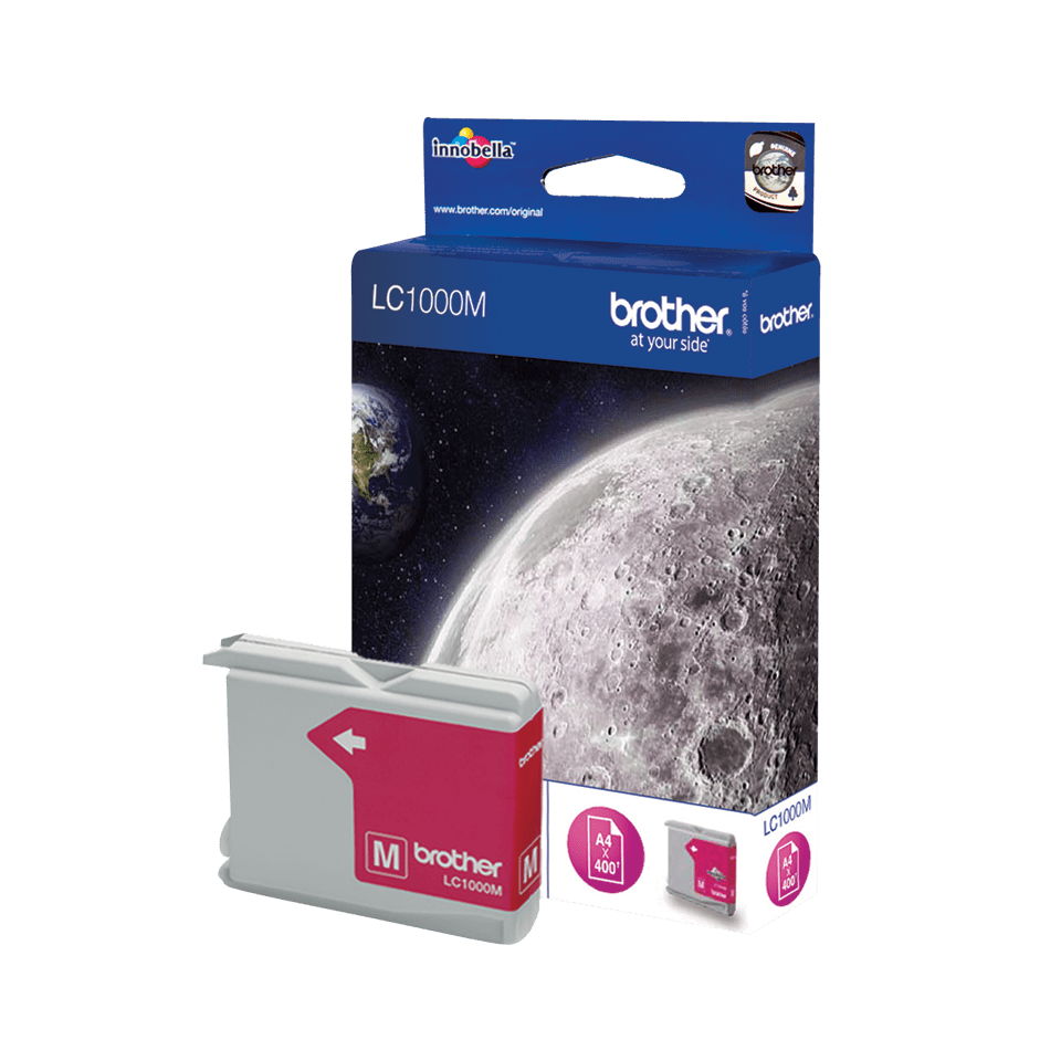 Brother LC-1000M Cartuccia inkjet originale - magenta 2