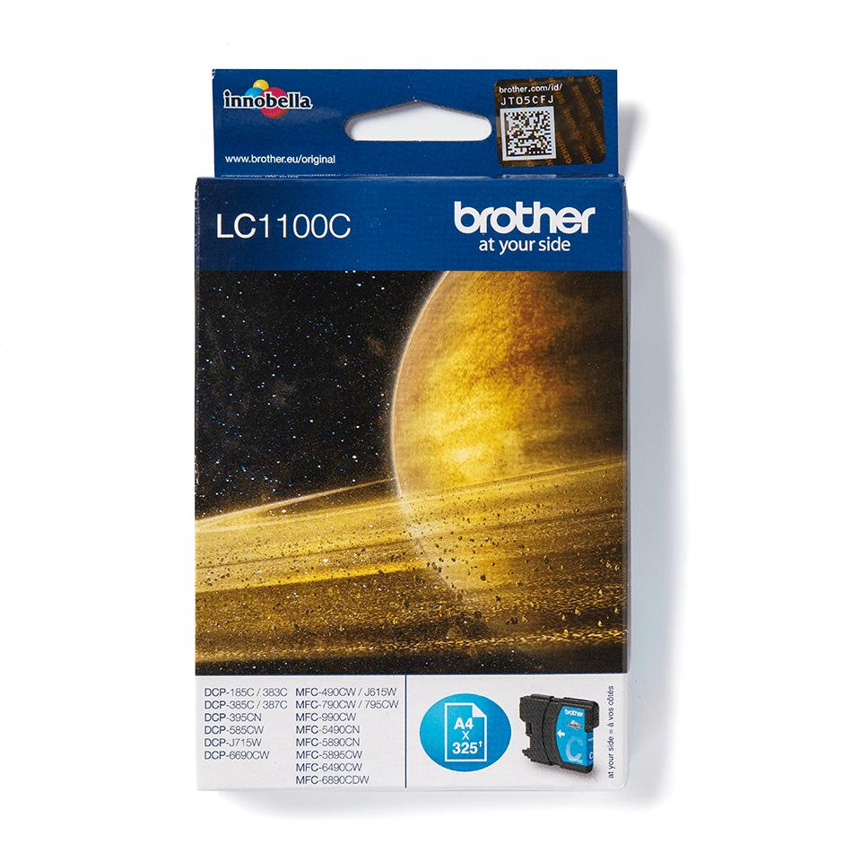 Brother LC1100C Cartuccia inkjet originale - ciano 0