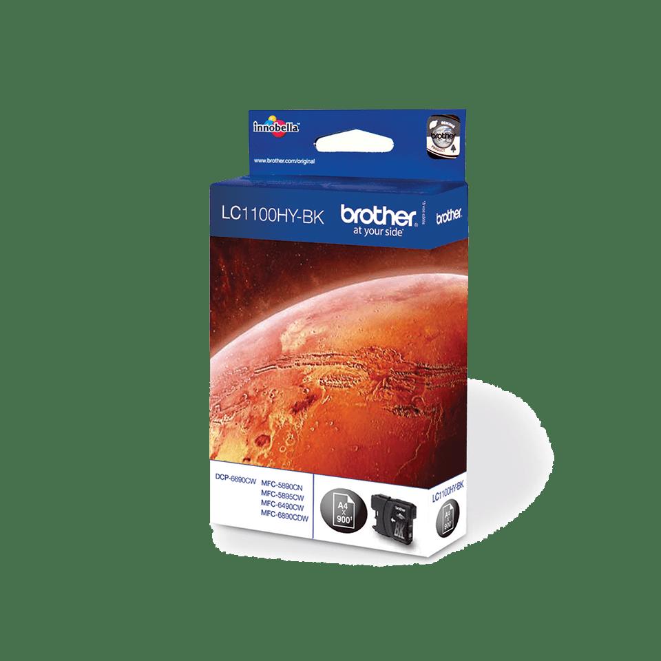 Cartuccia di inchiostro ad alta capacità originale Brother LC-1100HYBK – Nero 2
