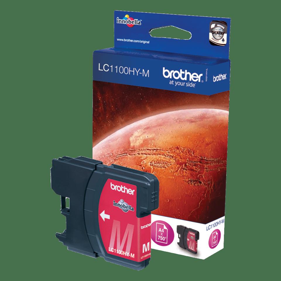 Brother LC-1100HYM Cartuccia di inchiostro ad alta capacità originale  – Magenta