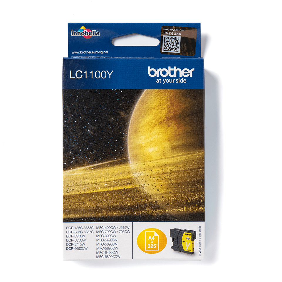 Brother LC1100Y Cartuccia inkjet originale - giallo