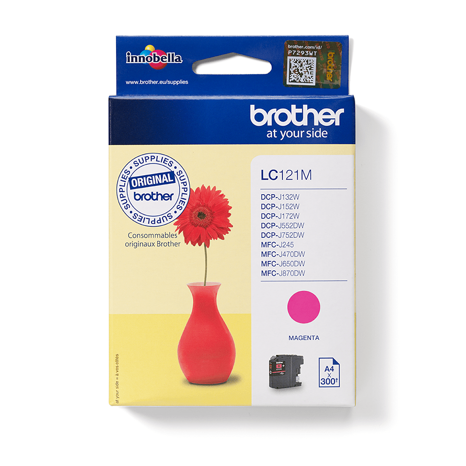 Brother LC121M Cartuccia inkjet originale - magenta