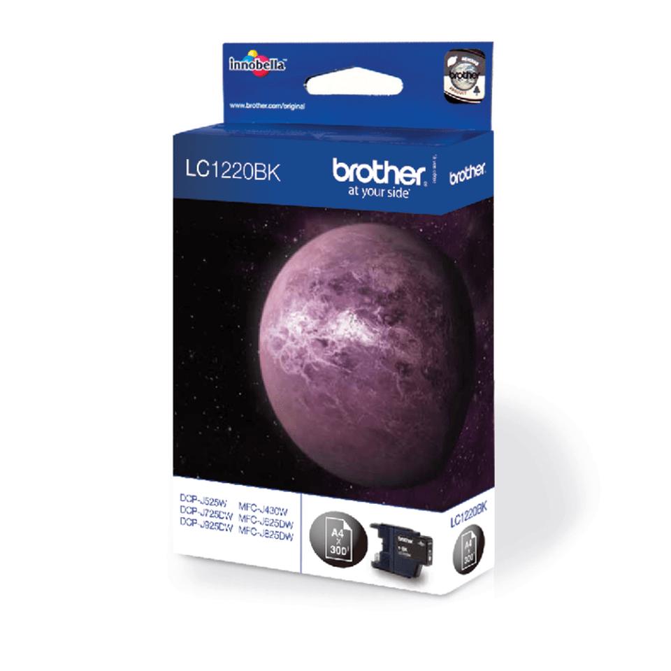 Brother LC1220BK Cartucca inkjet originale - nero 2