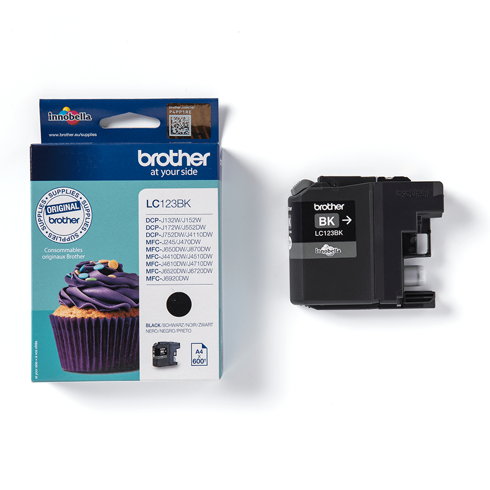 Brother LC123BK Cartuccia inkjet originale - nero 2