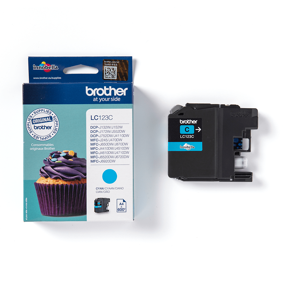 Brother LC-123C Cartuccia inkjet originale - ciano 2