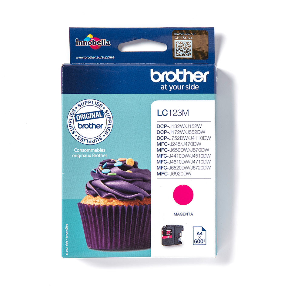 Brother LC-123M Cartuccia inkjet originale - magenta