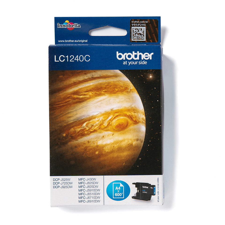 Brother LC1240C Cartuccia inkjet originale - ciano