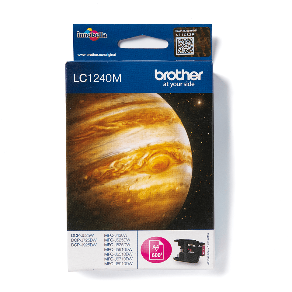 Brother LC1240M Cartuccia inkjet originale – magenta