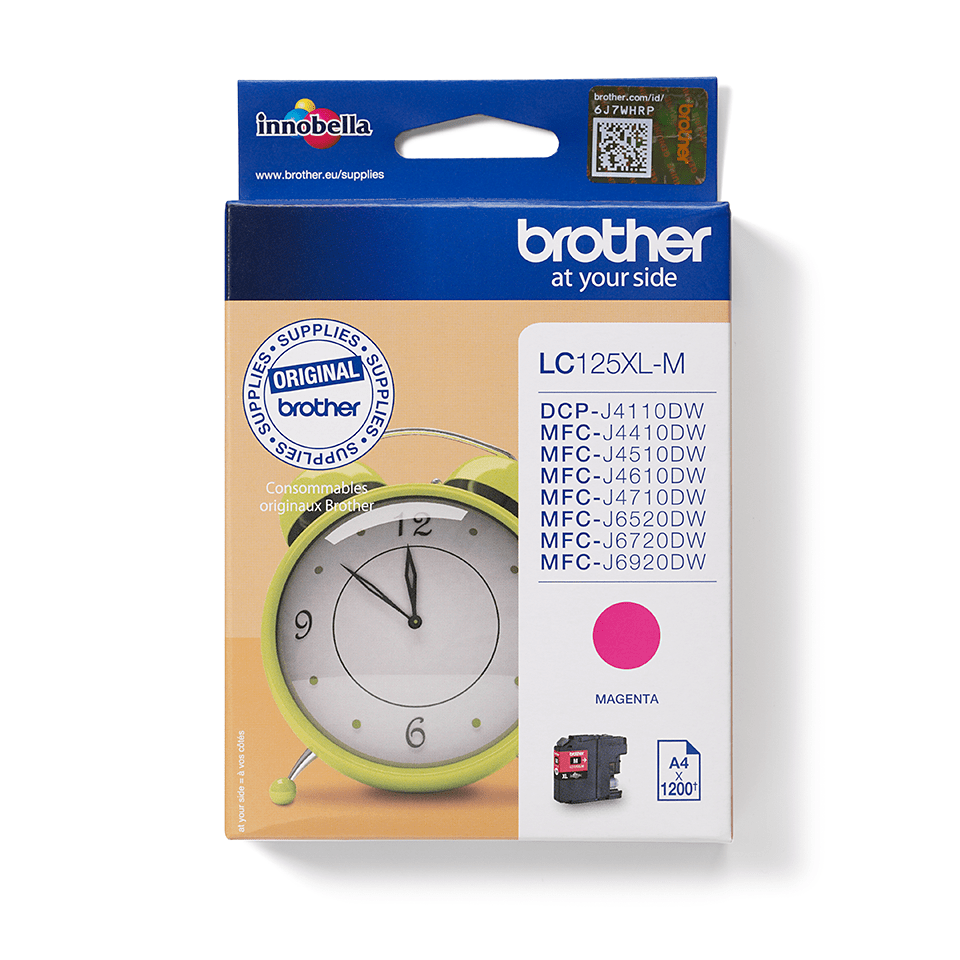 Brother LC125XLM Cartuccia inkjet XL - magenta