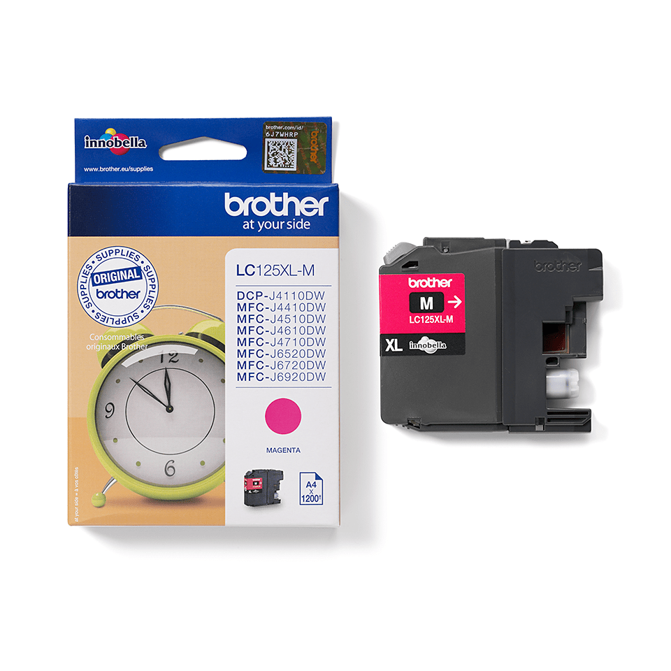 Brother LC125XLM Cartuccia inkjet XL - magenta 2