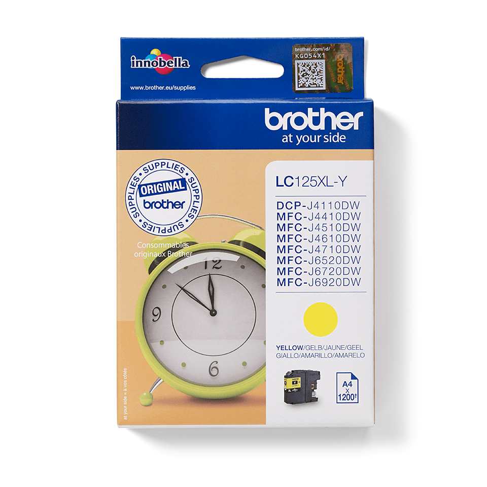 Brother LC125XLY Cartuccia inkjet XL - giallo