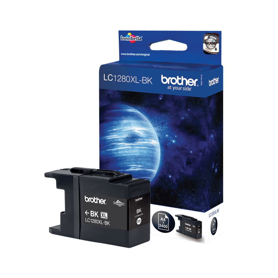 Brother LC1280XLBK Cartuccia inkjet originale XL - nero