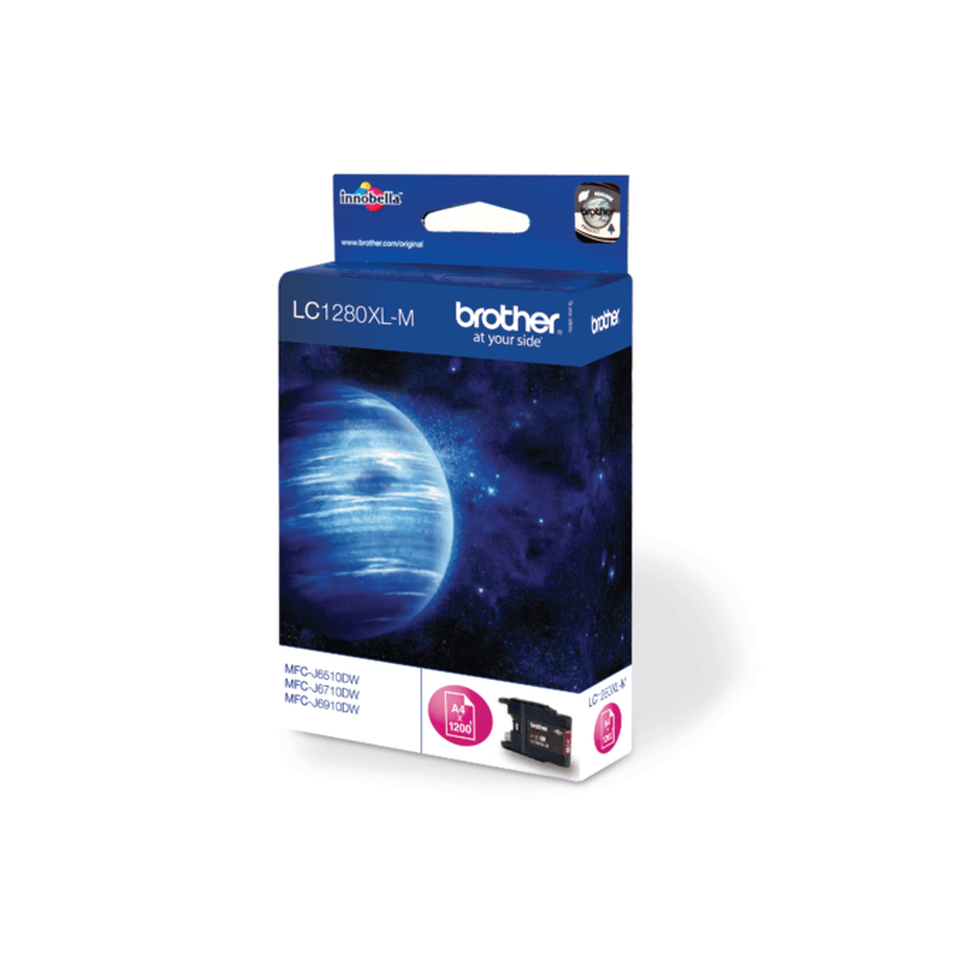 Brother LC1280XLM Cartuccia originale inkjet XL - magenta 2