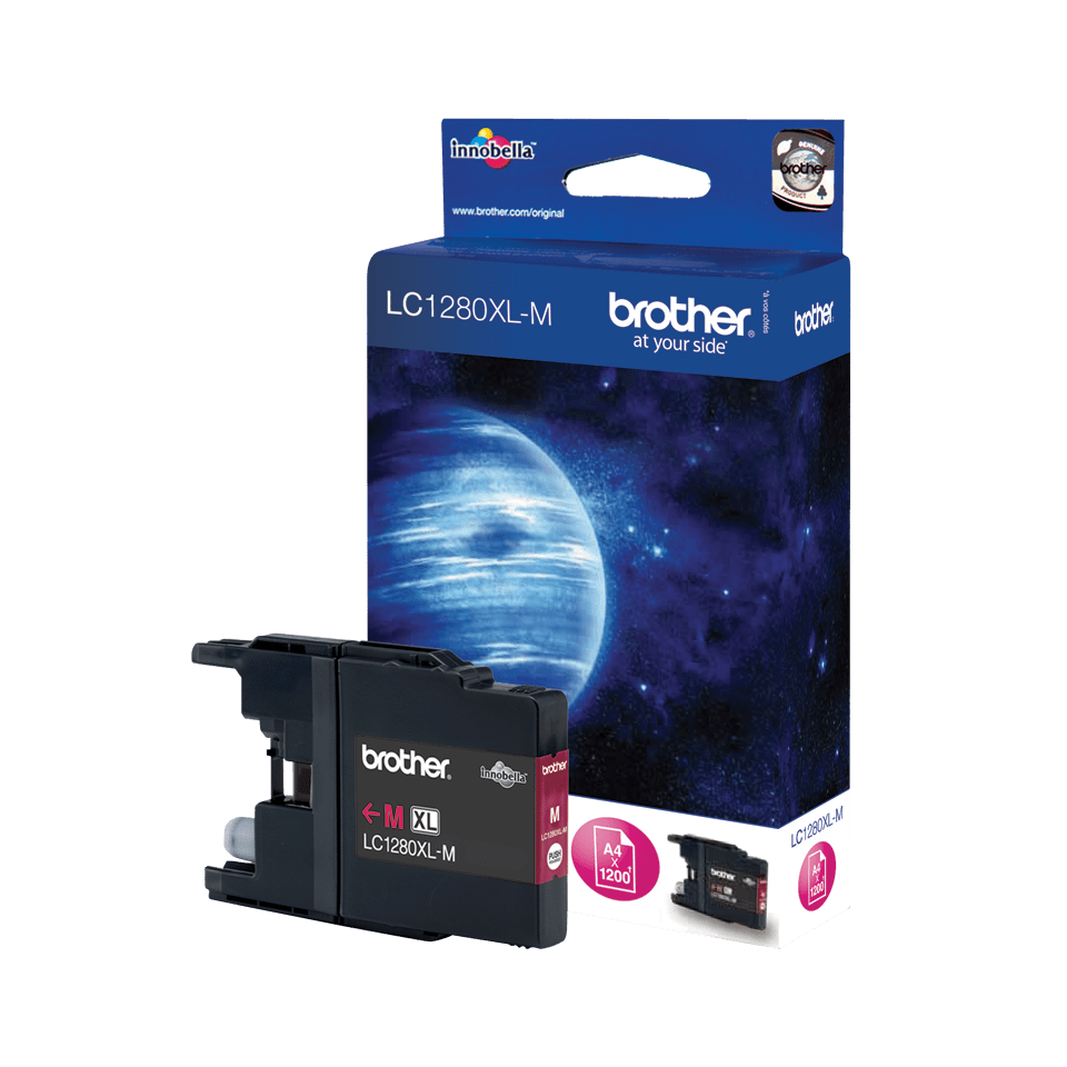 Brother LC1280XLM Cartuccia originale inkjet XL - magenta