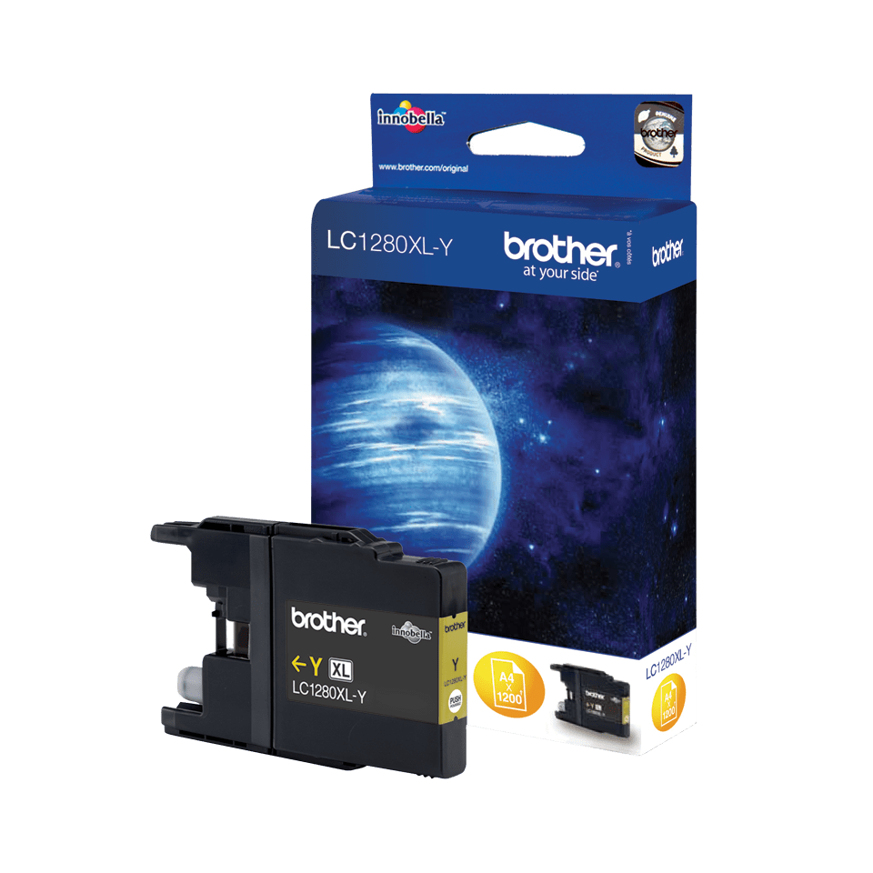 Brother LC1280XLY Cartuccia originale inkjet XL - giallo