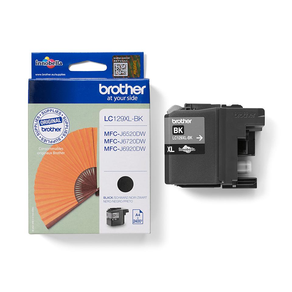 Brother LC129XLBK Cartuccia inkjet originale ad alta capacità - nero 2