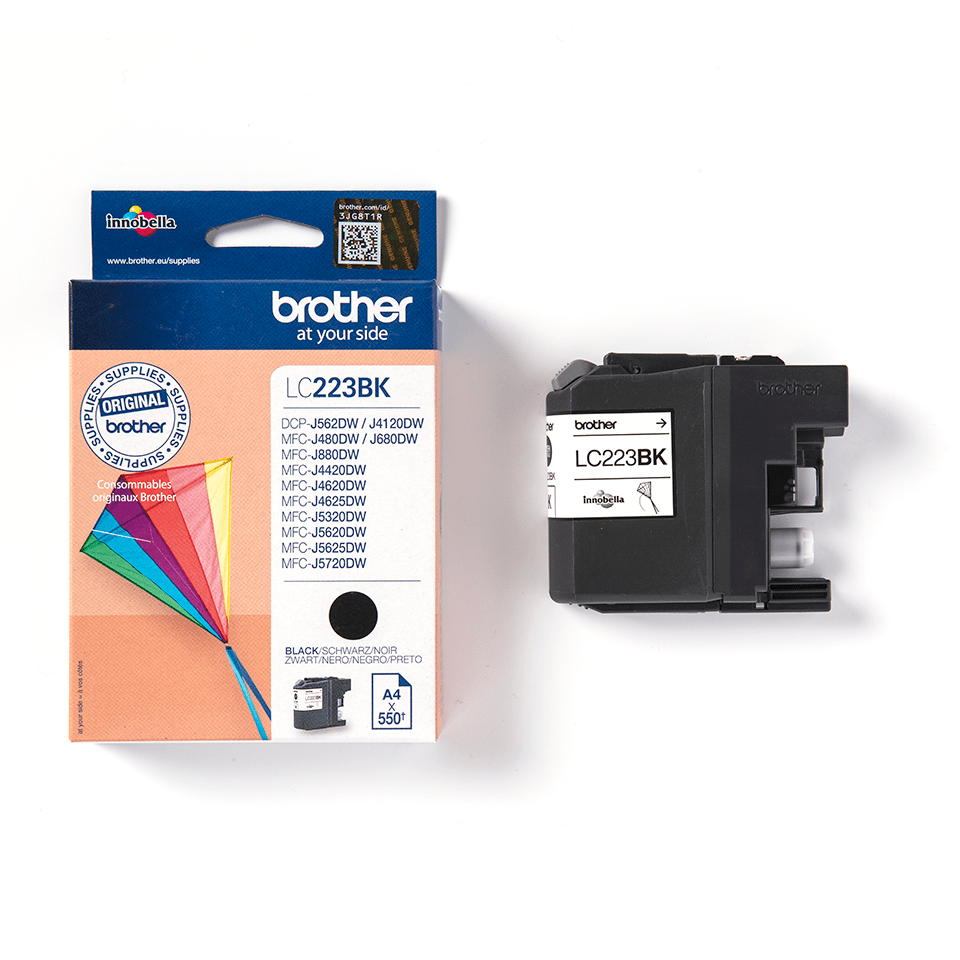 Brother LC223BK cartuccia originale inkjet - nero 3
