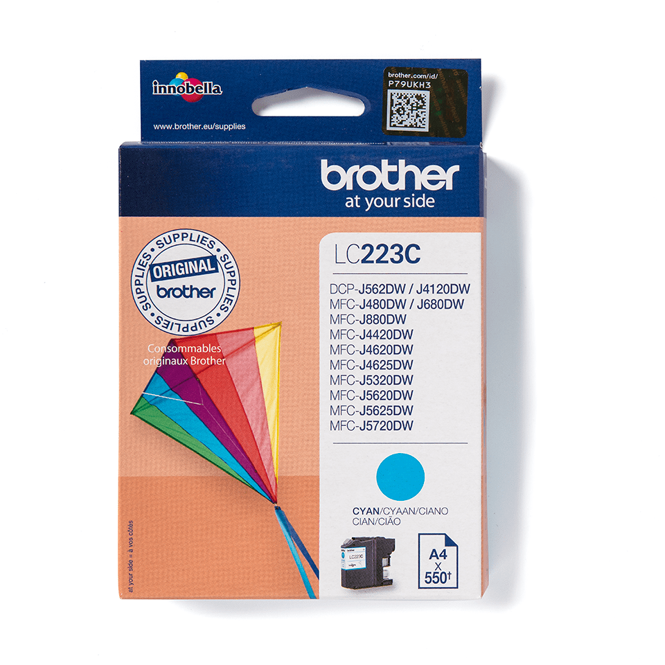 Brother LC223C Cartuccia inkjet originale - ciano 2