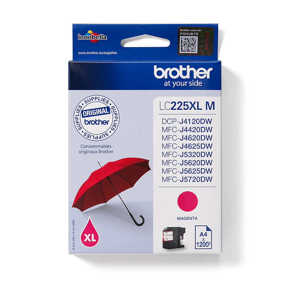 Brother LC225XLM Cartuccia originale inkjet XL - magenta