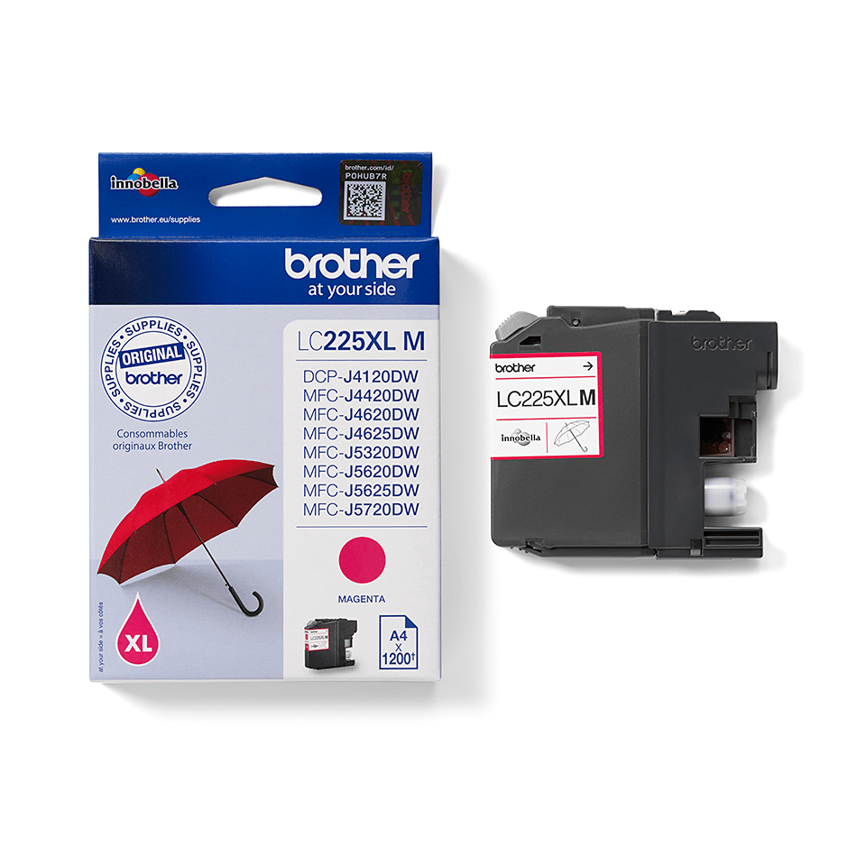 Brother LC225XLM Cartuccia originale inkjet XL - magenta 2