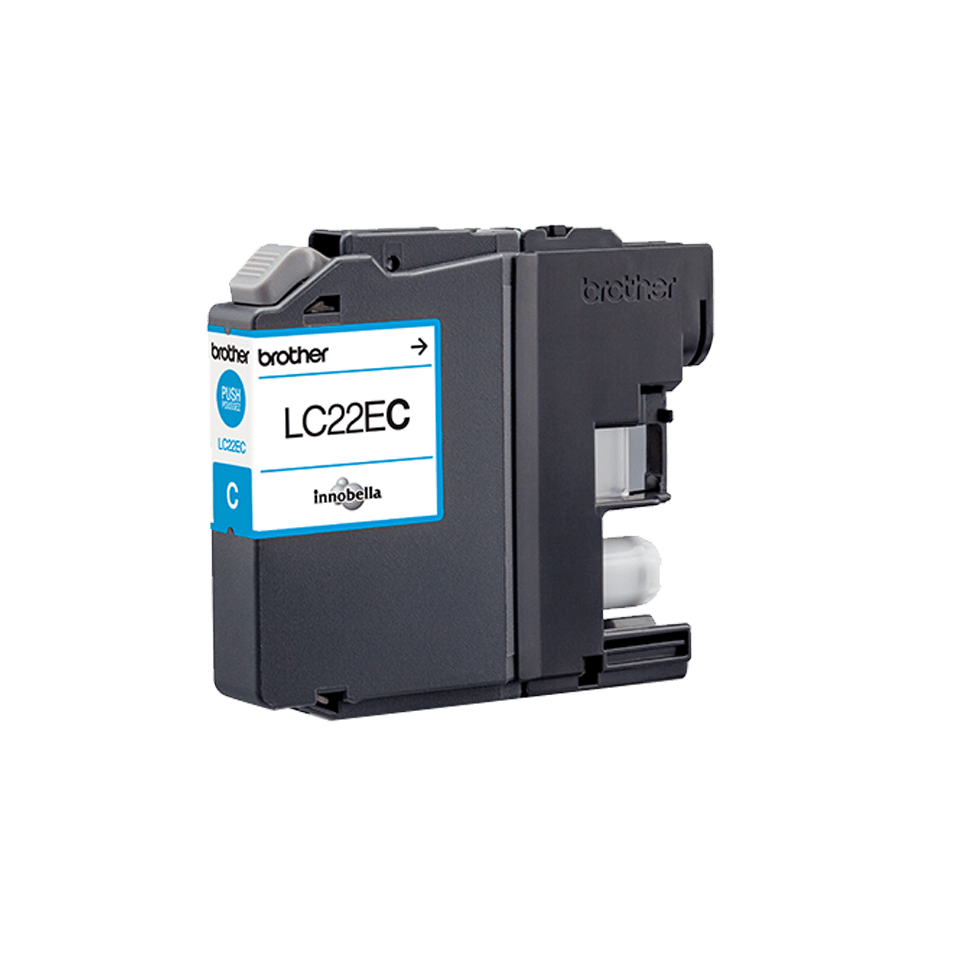 Brother LC22EC Cartuccia inkjet originale - ciano