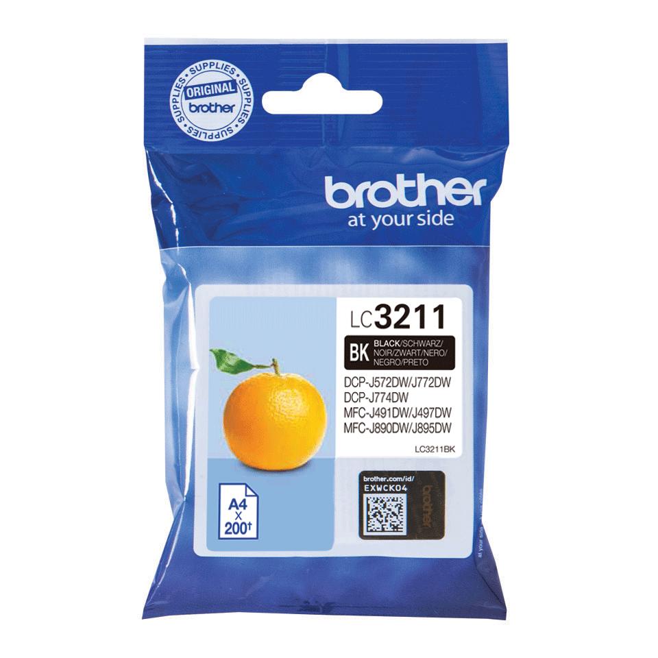 Brother LC-3211BK Cartuccia originale - nero