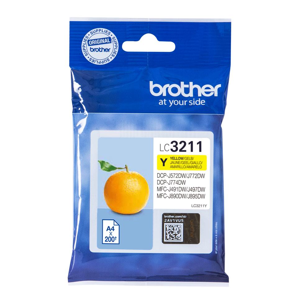 Brother LC-3211Y Cartuccia inkjet originale - giallo