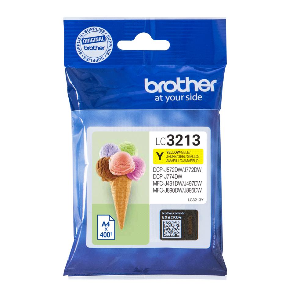 Brother LC3213Y Cartuccia originale inket - giallo 2