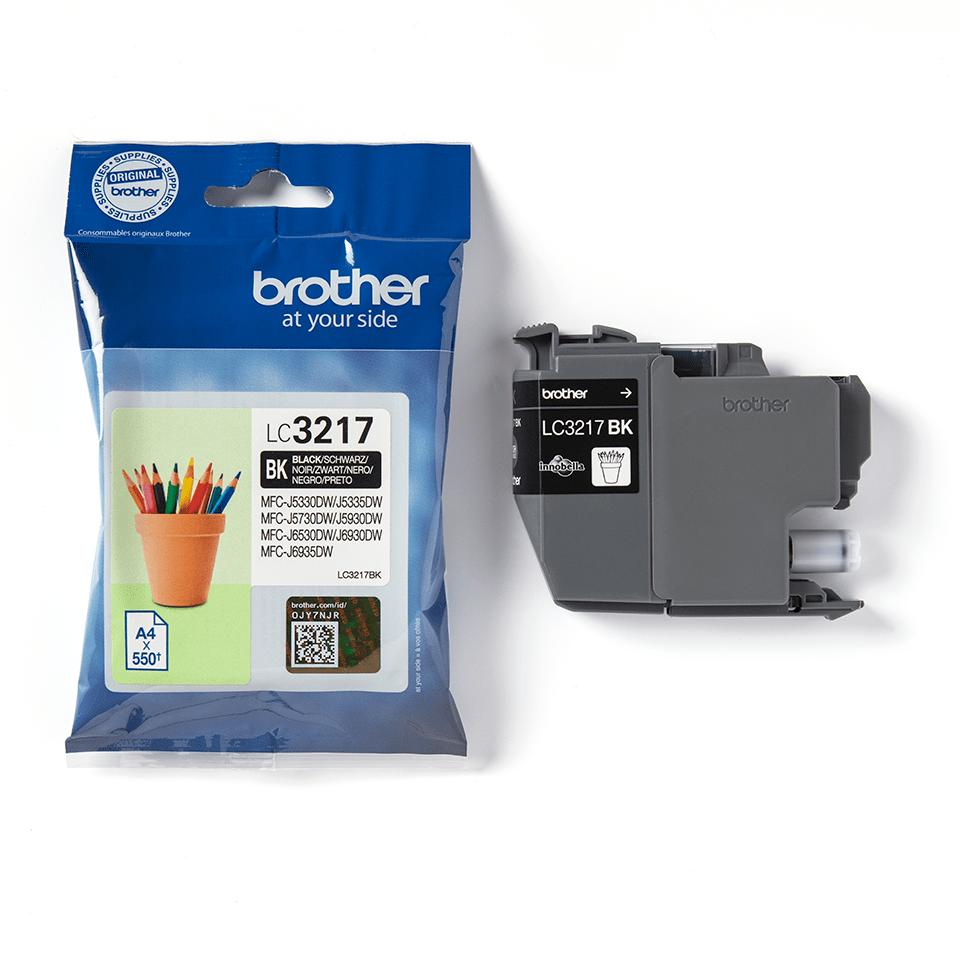 Brother LC3217BK Cartuccia originale inkjet - nero 3