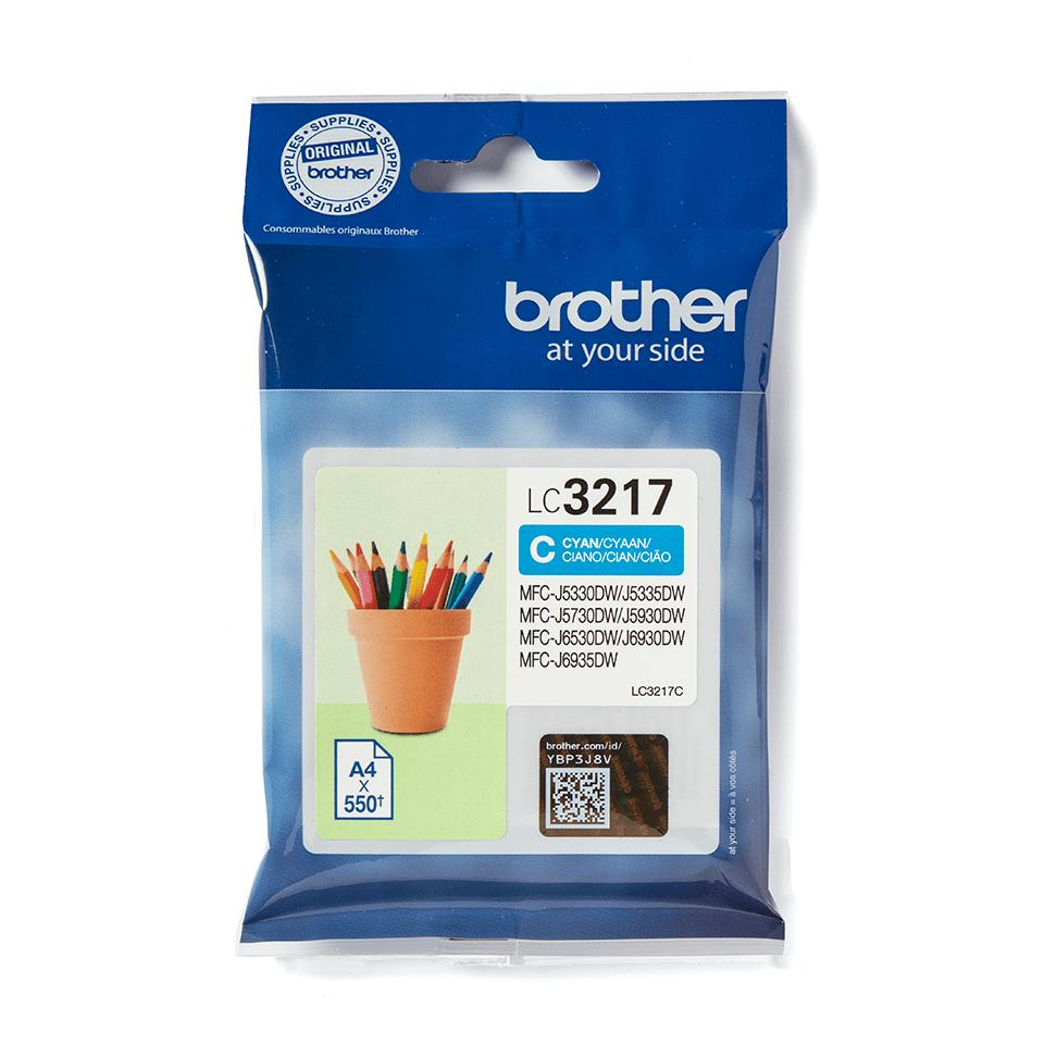 Brother LC3217C Cartuccia originale inkjet - ciano 2