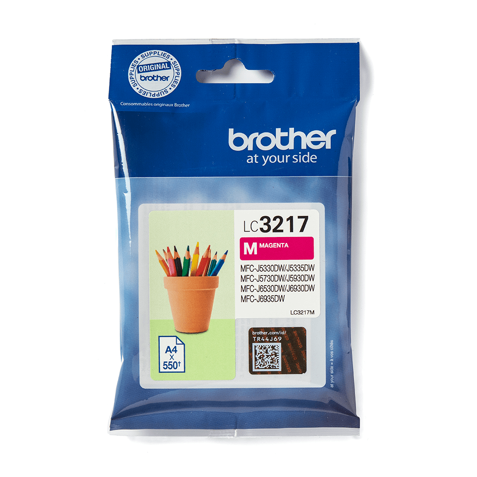 Brother LC3217M Cartuccia originale inkjet - magenta 2