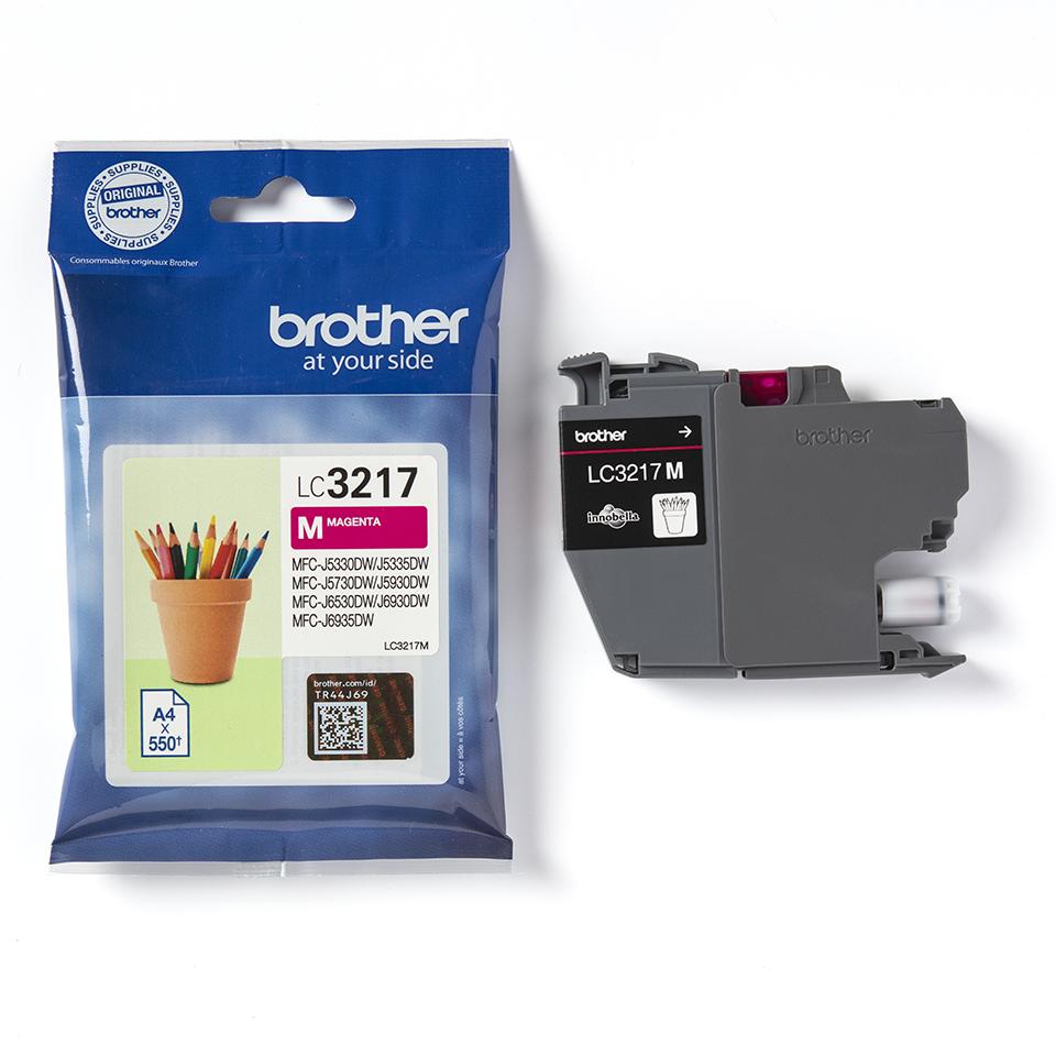 Brother LC3217M Cartuccia originale inkjet - magenta 3
