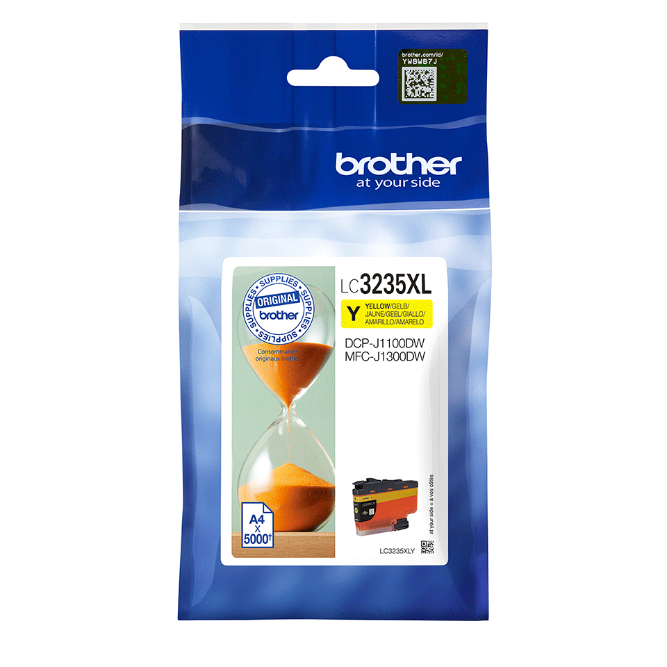 Brother LC-3235XLY Cartuccia originale inkjet ad altissima capacità - giallo