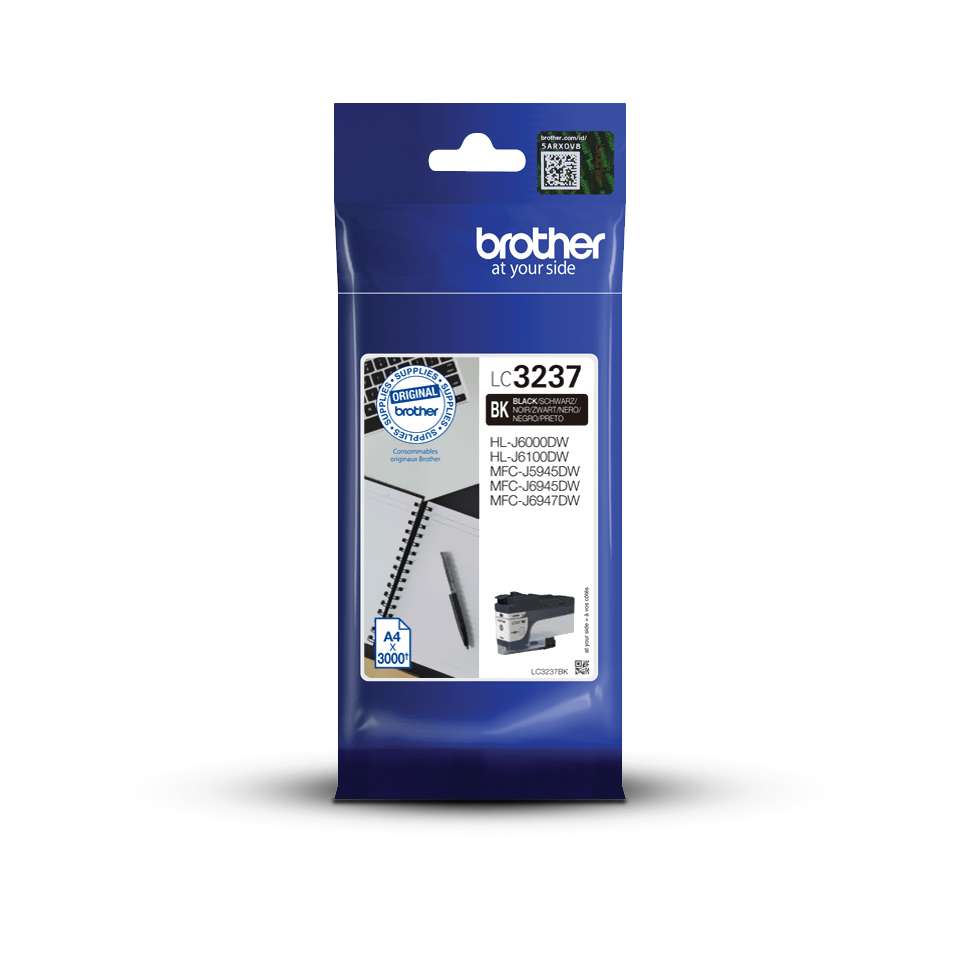 Brother LC-3237BK Cartuccia originale inkjet - nero 3