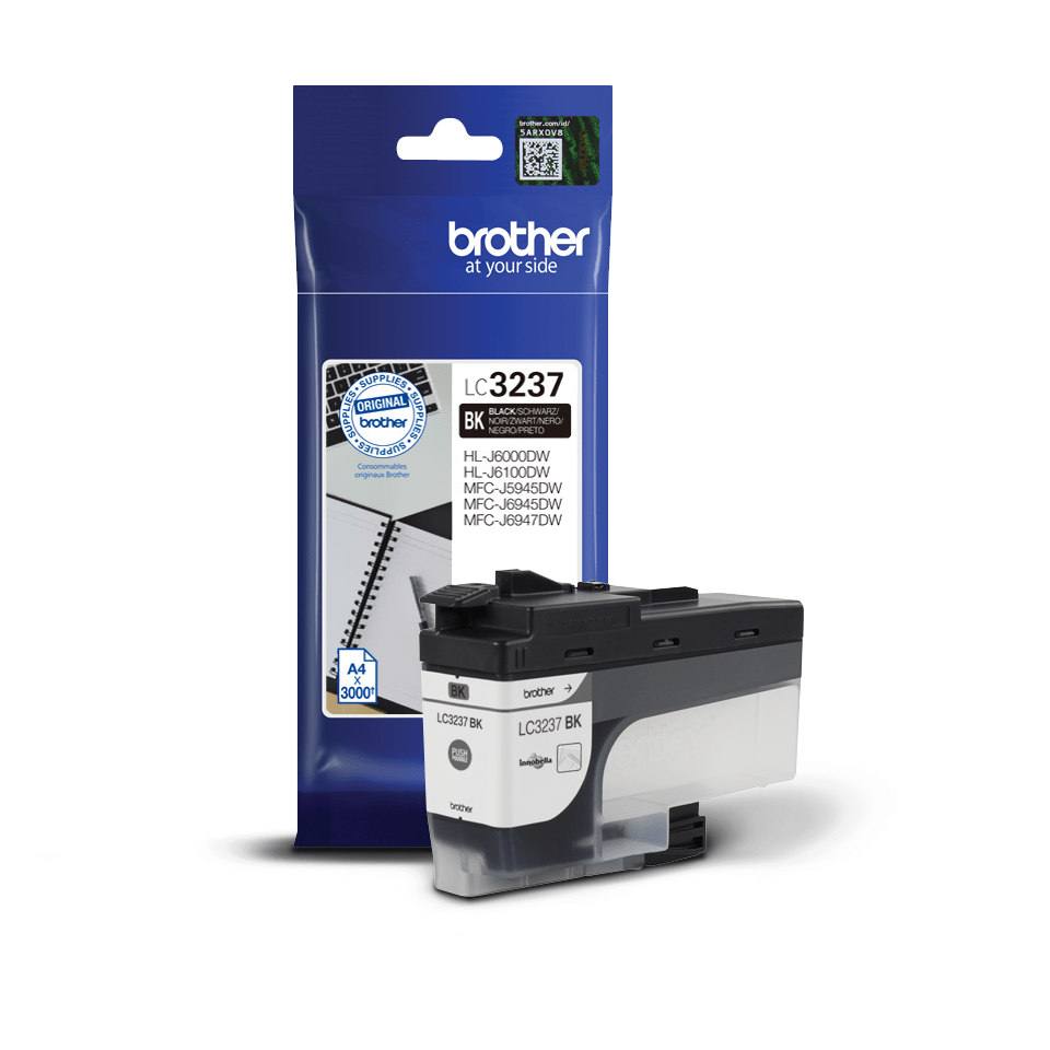 Brother LC-3237BK Cartuccia originale inkjet - nero 2