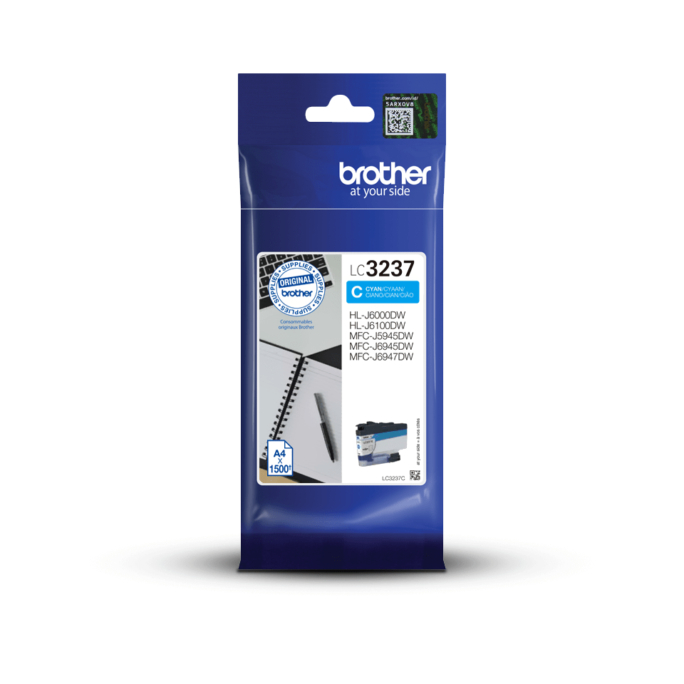 Brother LC-3237C Cartuccia inkjet originale - Ciano