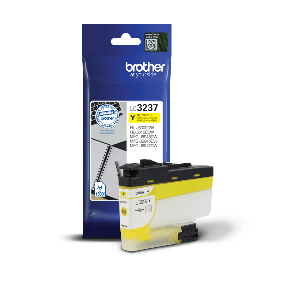 Brother LC-3237Y Cartuccia inkjet originale - Giallo 3