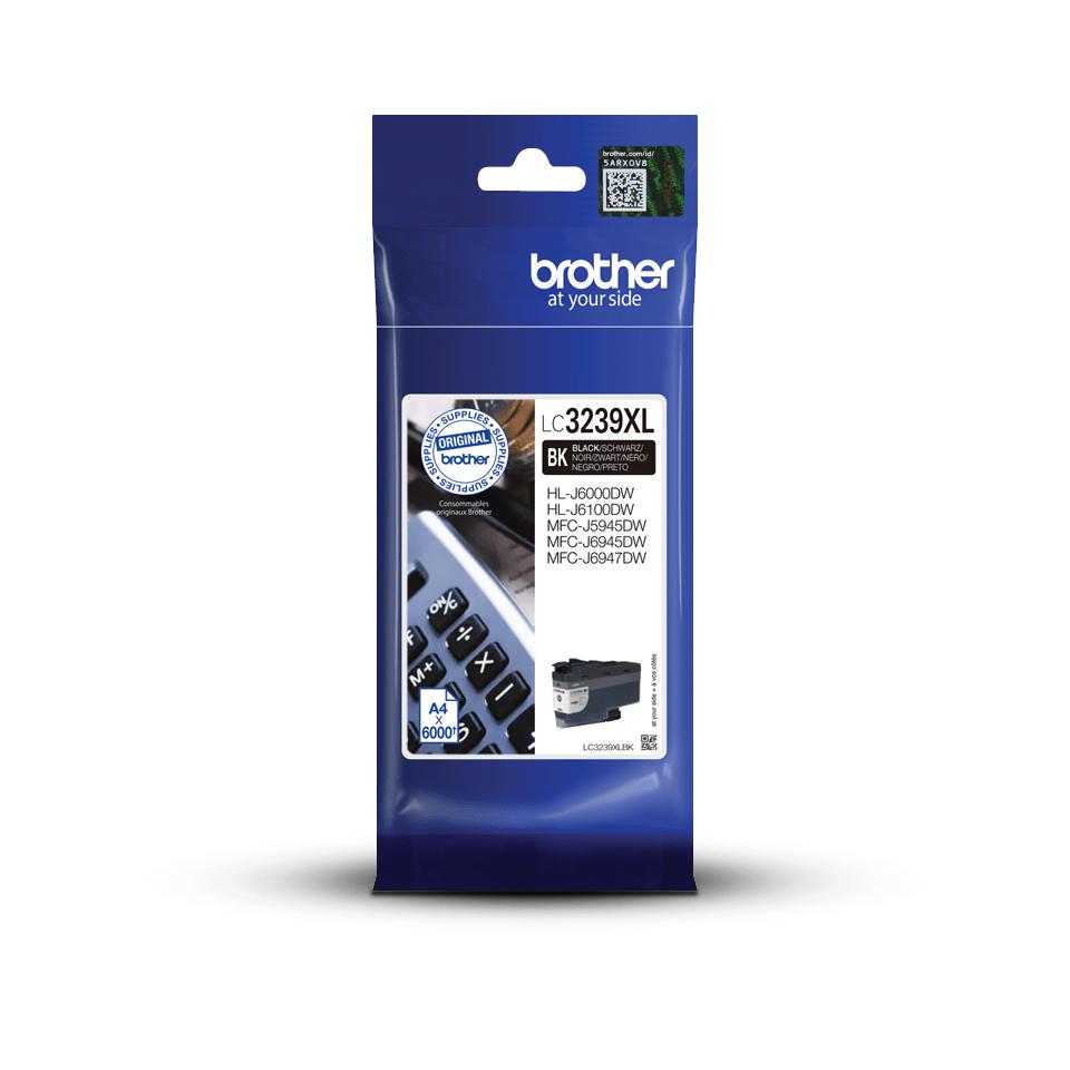 Brother LC-3239XLBK Cartuccia originale inkjet ad altissima capacità - nero
