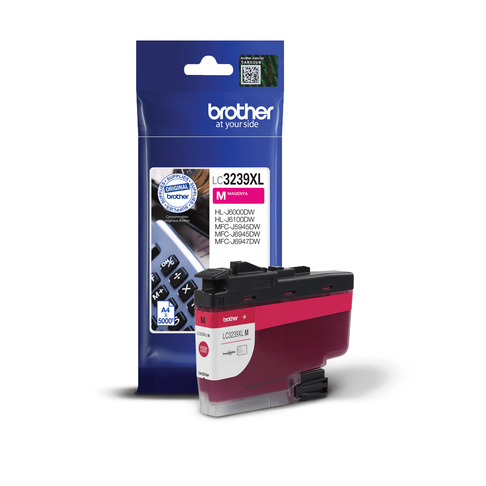 Brother LC-3239XLM Cartuccia originale inkjet ad altissima capacità - Magenta 2