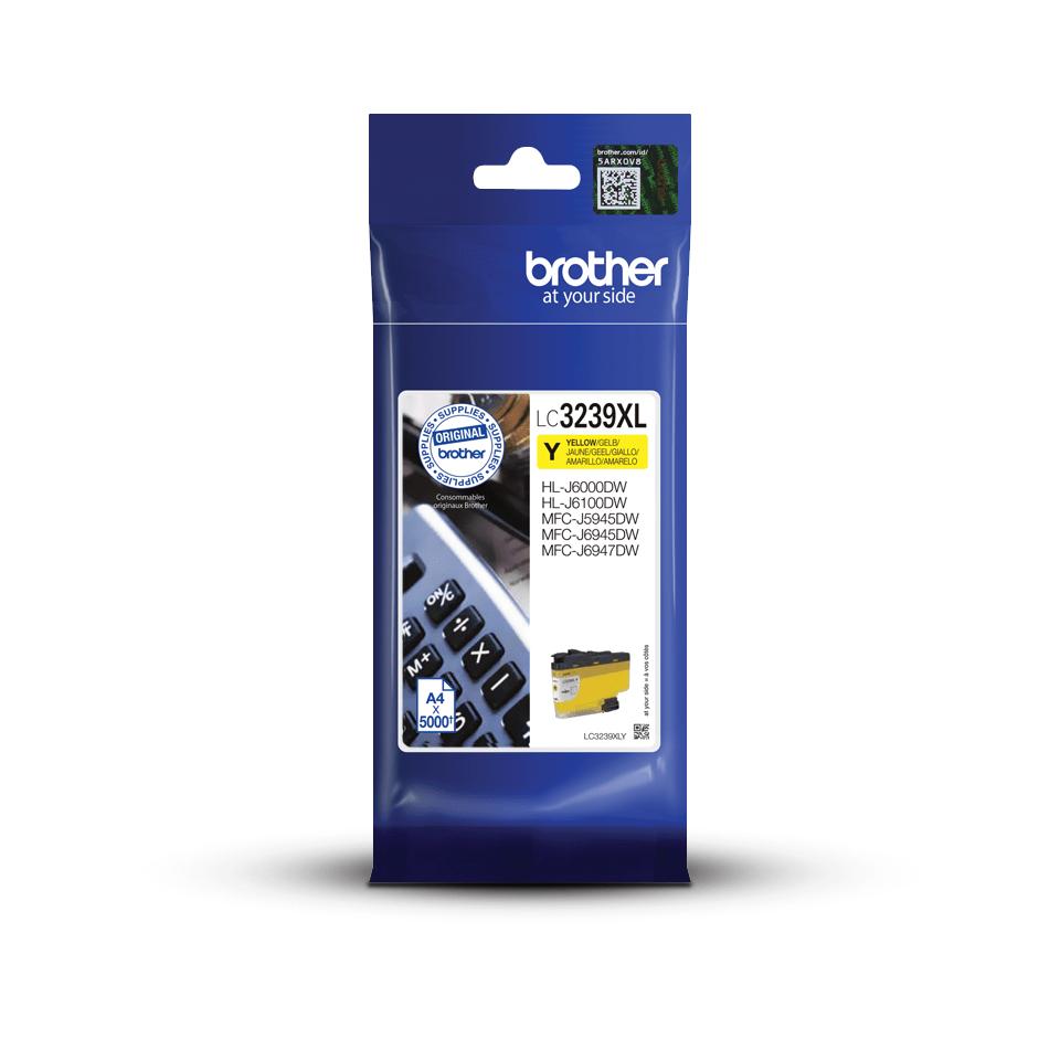 Brother LC-3239XLY Cartuccia originale inkjet ad altissima capacità - Giallo 3