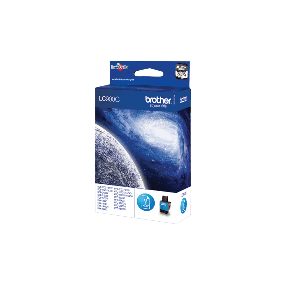 Brother LC-900C Cartuccia di inchiostro originale – Ciano 2