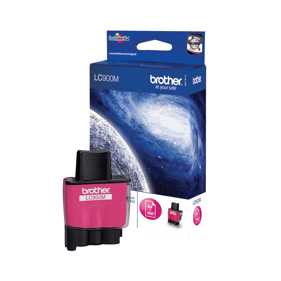 Brother LC-900M Cartuccia di inchiostro originale – Magenta