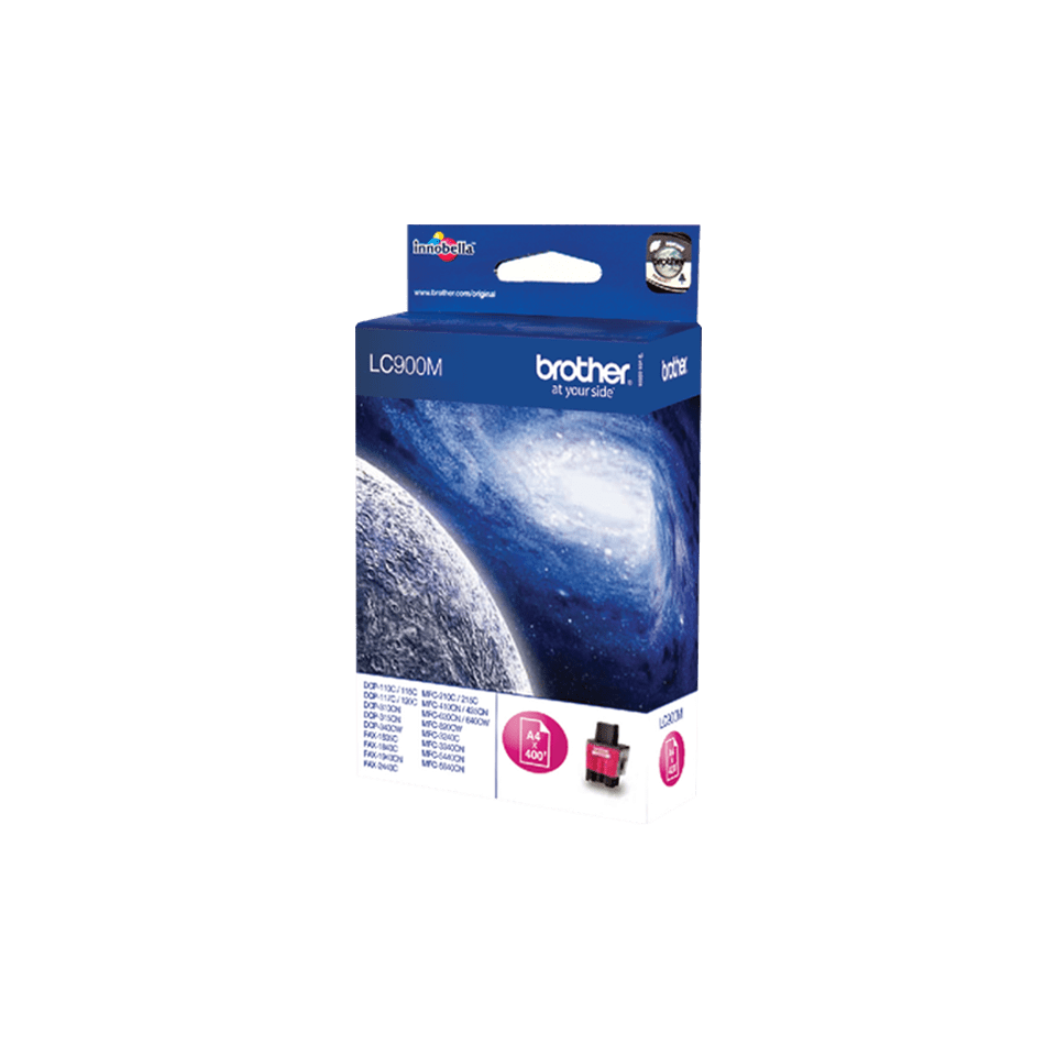Brother LC-900M Cartuccia di inchiostro originale – Magenta 2