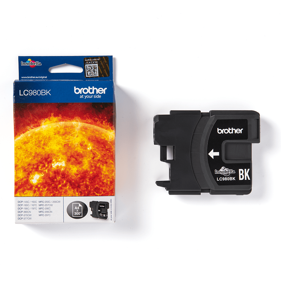 Brother LC980BK Cartuccia inkjet originale - nero 2